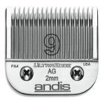ANDIS Scherkopf  2 mm Größe 9