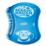 MagicBrush Dog Bürste zur Reinigung mit Massag...